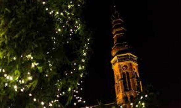 Kerst verlichting Dorpshart