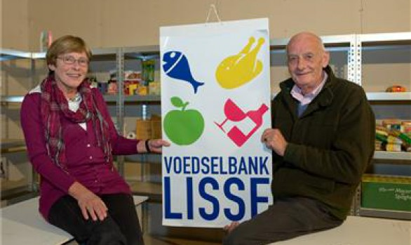 Donatie voedselbank Lisse